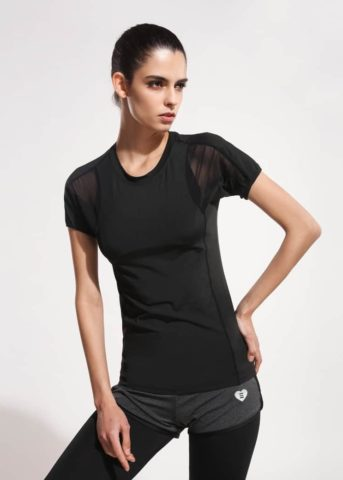 Hypegem Lumi Mesh black shirt
