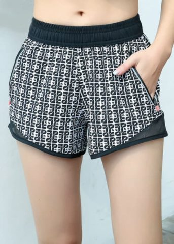 Domino Pants Black