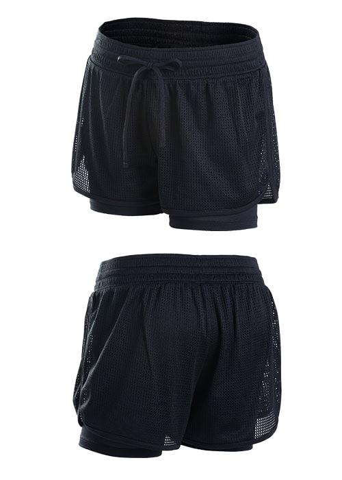 Loopie Shorts Black