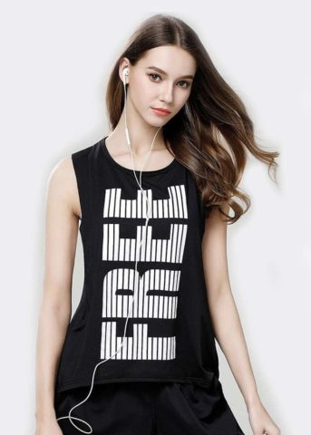NYA black womens tanktop black
