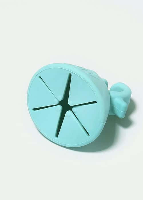 Nail polish holder turquoise