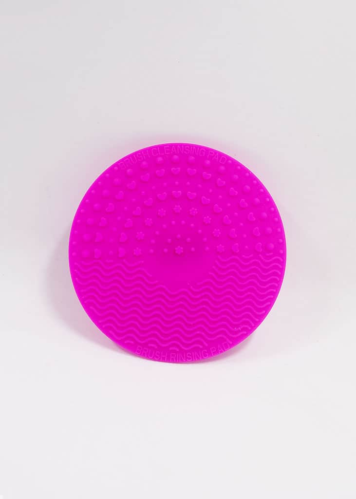brush cleaning pad pink