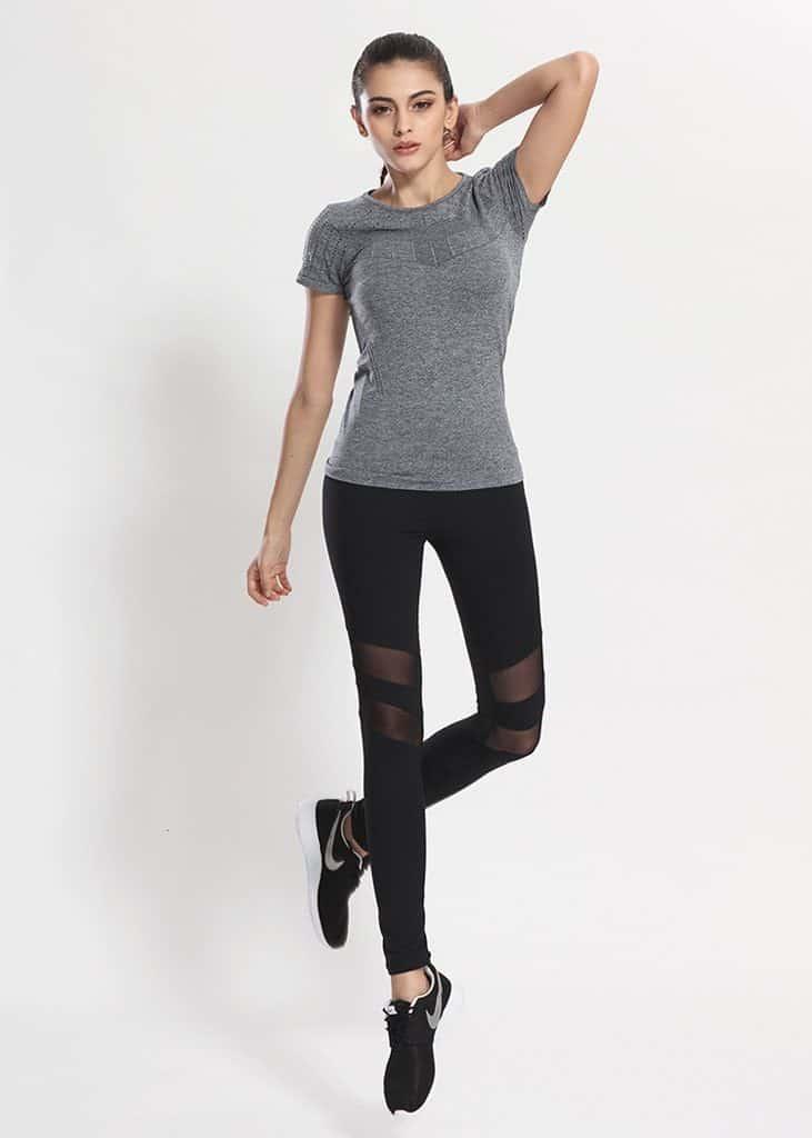 double mesh active pants black 3