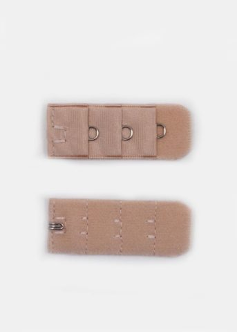 Bra Extender single hook tan