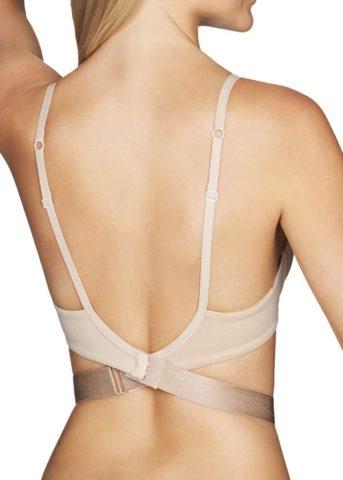 Low Back Bra Strap Convertor Beige