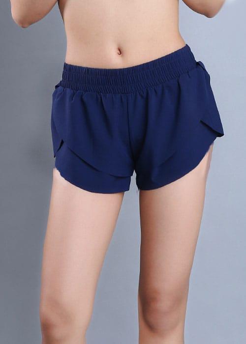 Petal Shorts Navy Front