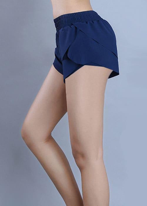Petal Shorts Navy Side