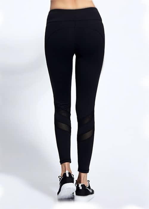 Swot Mesh Black Active Pants