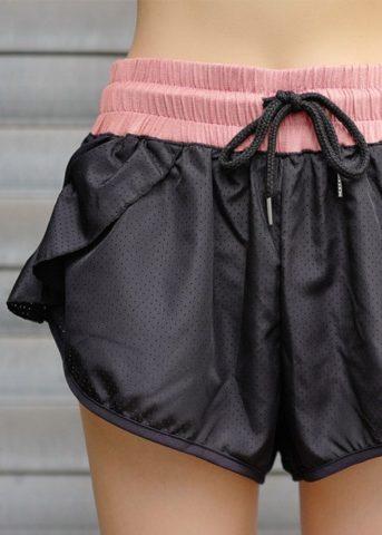 Fuze Womens running shorts back