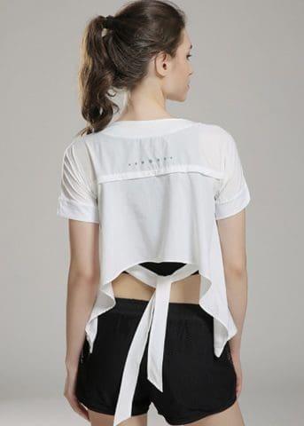 Flow Ribbon White Shirt