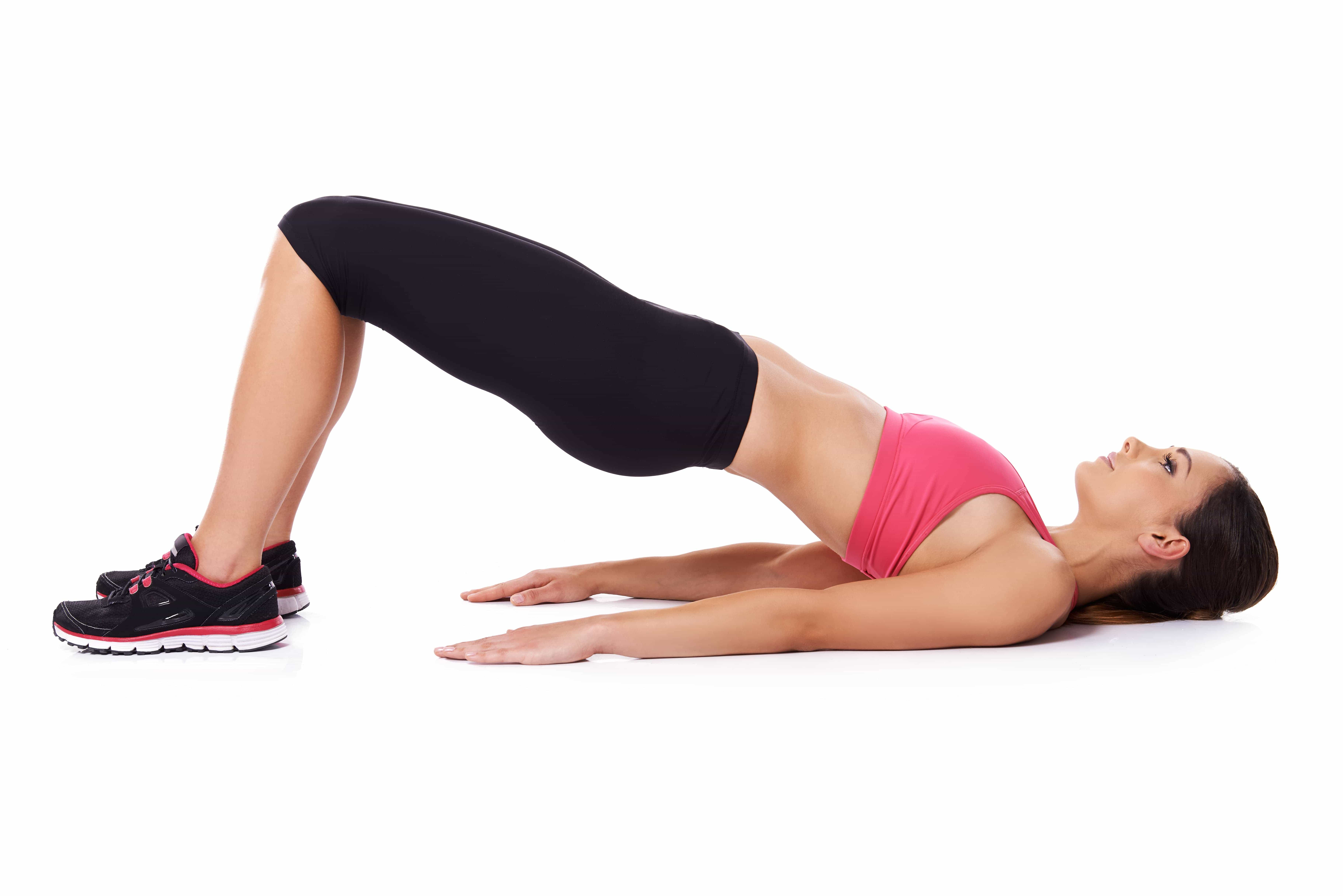 Elevated Hip Rise Exercise