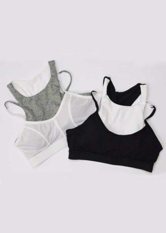 Double vest bra
