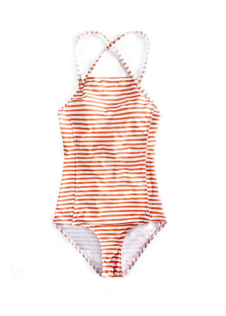 148 Hypegem citrus stripe criss cross swimwear 3