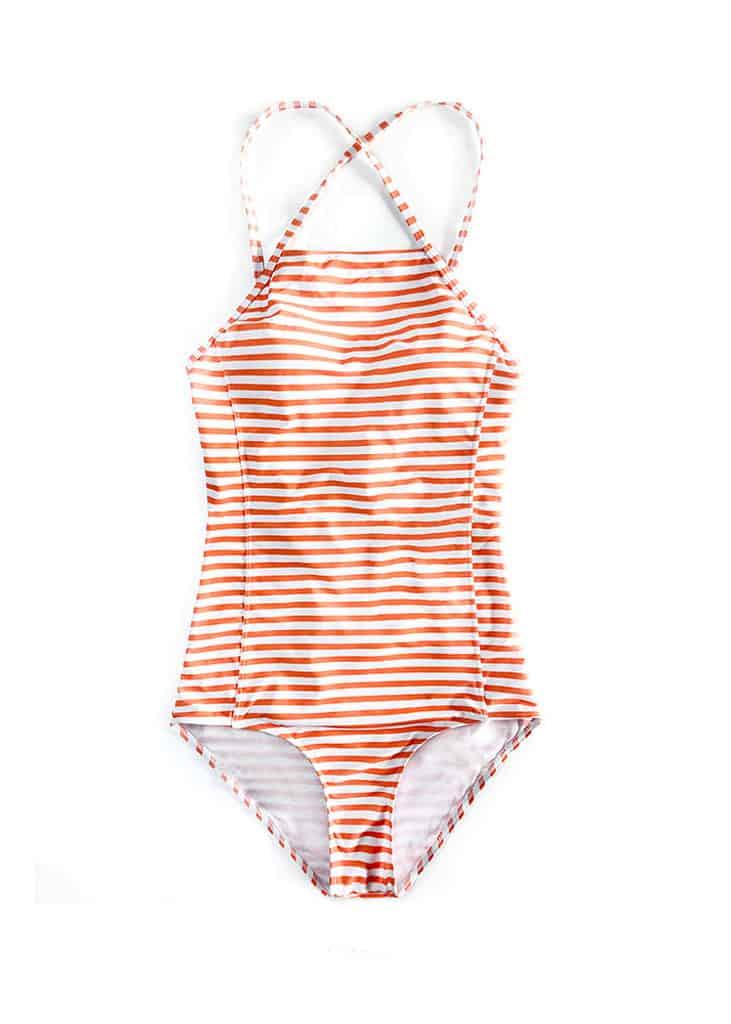 4819960b274 148 Hypegem citrus stripe criss cross swimwear 3