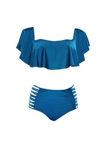 Hypegem Ruffles blue swimwear