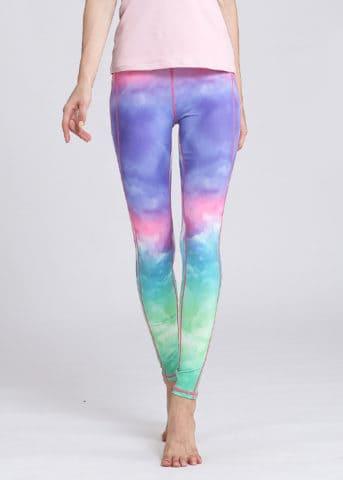 SLEG011 Unicorn Ombre Yoga Leggings2