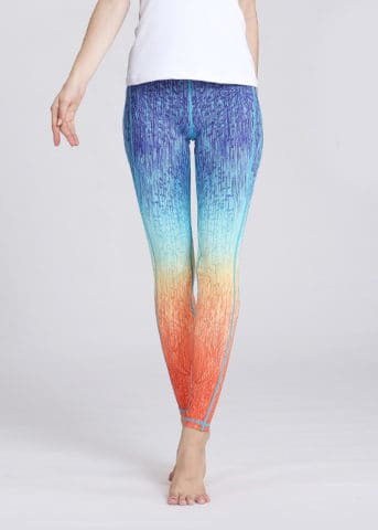 SLEG58 Hypegem Sunset OB Yoga Leggings 3