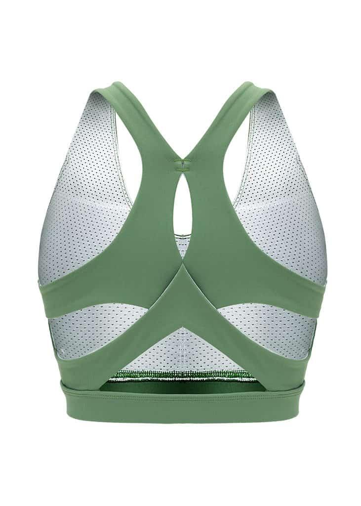 Hypegem Versace women Green Sports bra mannequin 1
