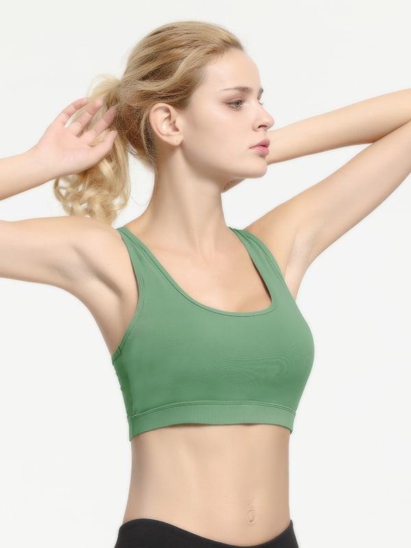 Hypegem Womens Contra Bra Green Details 4