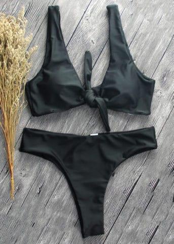 Malta bikini front tie black 2