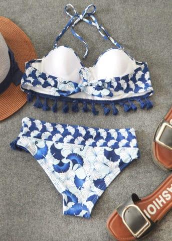 216 Hypegem Kanagawa Tassel Padded Bikini 1