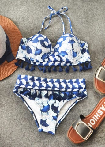 216 Hypegem Kanagawa Tassel Padded Bikini 2